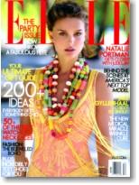 Supermodels online com natalie portman for Elle magazine this month