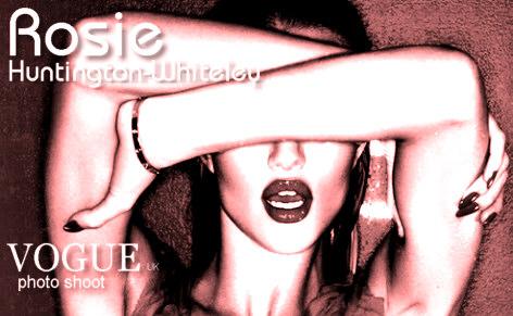 Rosie Huntington-Whiteley Vogue photo shoot